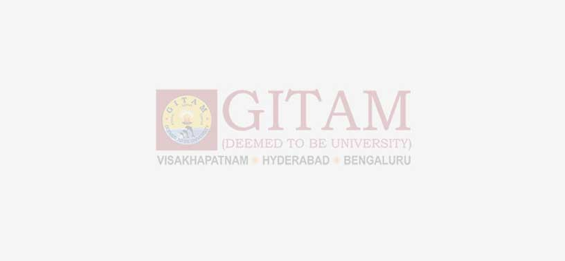 GITAM School of Pharmacy, Hyderabad